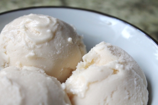 Honey Vanilla Greek Frozen Yogurt
