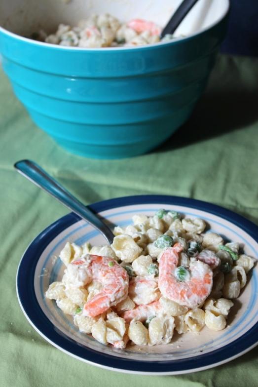Macaroni Shrimp Salad