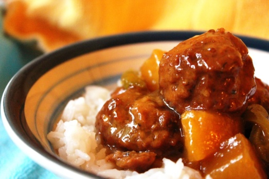 [Slow Cooker] Hawaiian Meatballs