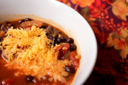 [Slow Cooker] Enchilada Soup >> Baking Bytes