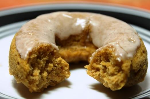 IMG_2029Cinnamon Glazed Pumpkin Donuts >> Baking Bytes