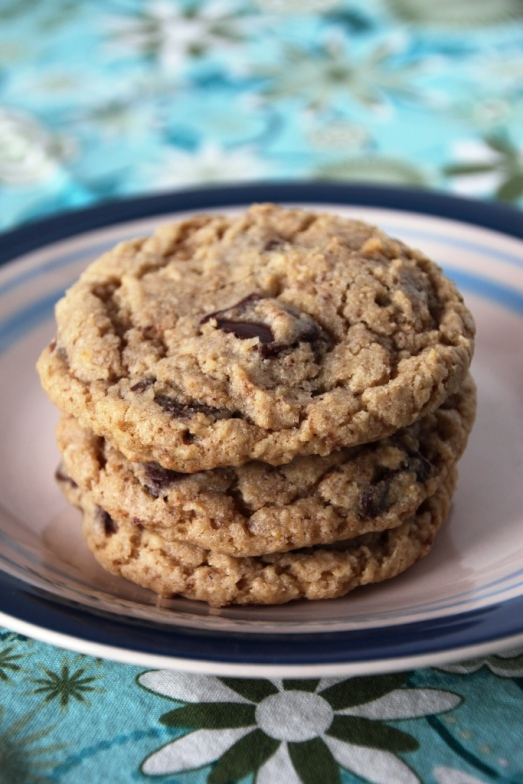 Oatmeal Chocolate Chunk Cookies {{Baking Bytes}}