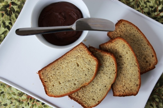 Banana Bread and Chocolate Spread {{Baking Bytes}}