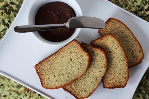 Banana Bread and Chocolate Spread {{Baking Bytes}}