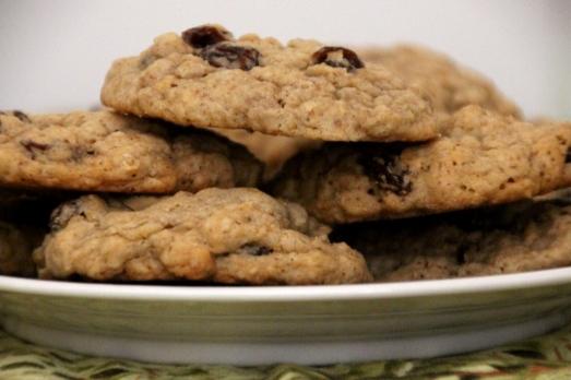 Oatmeal Raisin Cookies {{Baking Bytes}}