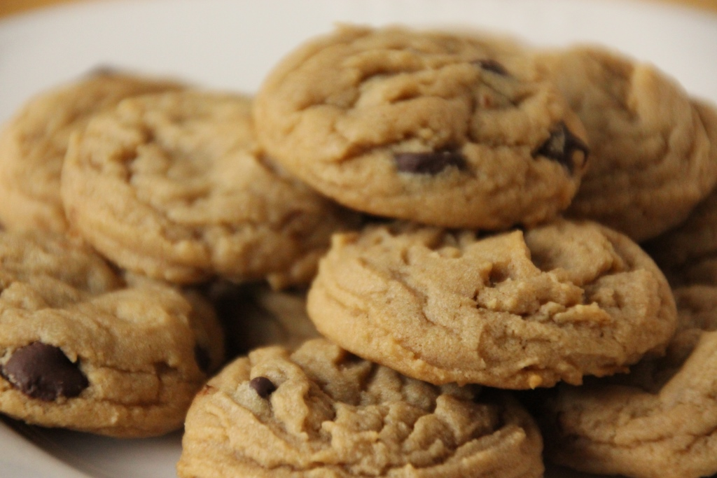 Peanut Butter Chocolate Chip Cookies | Baking Bytes