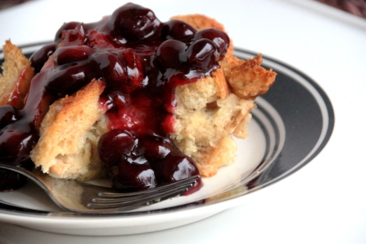 Overnight Baked French Toast & Blueberry Sauce {{Baking Bytes}}