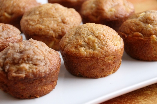 Apple Cinnamon Muffins {{Baking Bytes}}