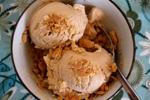 Peanut Butter Banana Ice Cream {{Baking Bytes}}