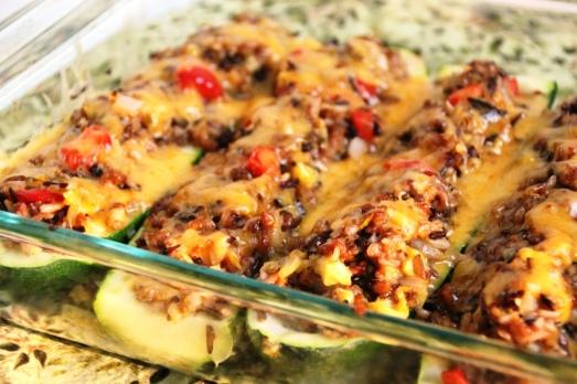 Zucchini Boats {{Baking Bytes}}