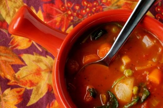 Veggie Soup {{Baking Bytes}}