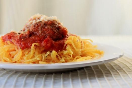 Secret Veggie Spaghetti Sauce & Italian Meatballs {{Baking Bytes}}