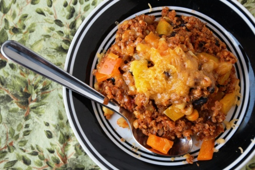 [Slow cooker] Enchilada Quinoa {{Baking Bytes}}