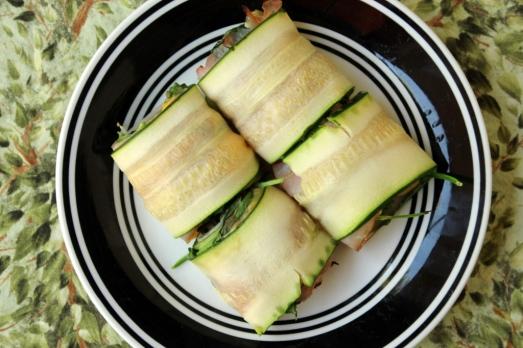 Easy Zucchini Rollups {{Baking Bytes}}