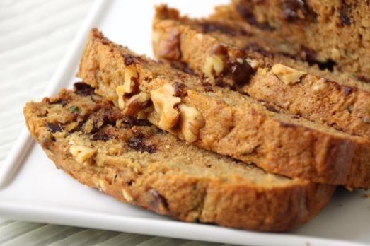 Chocolate Chip Zucchini Bread {{Baking Bytes}}