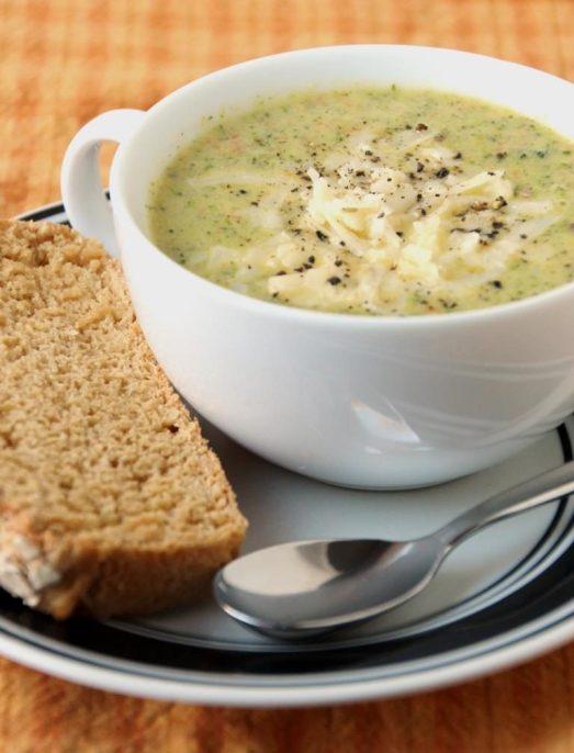Broccoli Cheese Soup {{Baking Bytes}}