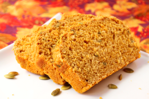 Savory Pumpkin & Sage Beer Bread {{Baking Bytes}}