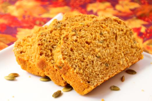 Savory Pumpkin & Sage Beer Bread {{Baking Bytes}}