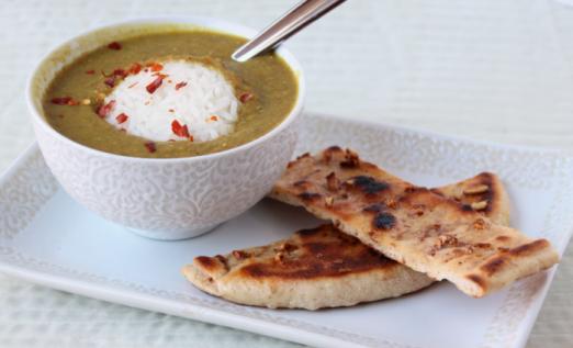 Turmeric Lentil Soup {{Baking Bytes}}