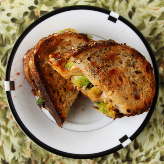 Brussels & Gouda Grilled Cheese