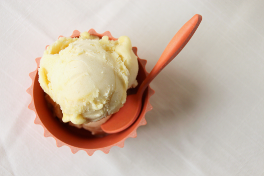 "Pineapple Habanero ""Ice Cream"" {{Baking Bytes}}"