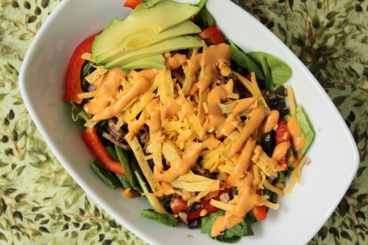 Southwest Salad {{Baking Bytes}}