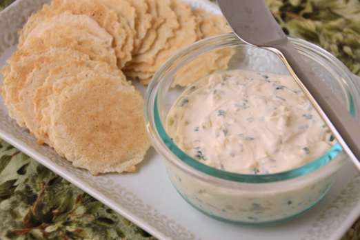 Chive & Onion Cream Cheese {{Baking Bytes}}