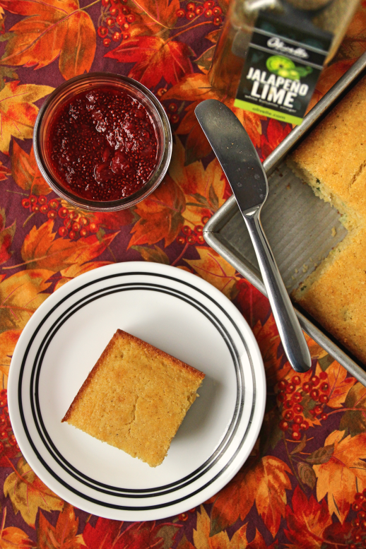 Jalapeño Cornbread and Jam {{Baking Bytes}}
